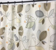 Ordinaire Stripe Shower Curtain Ticking Storm Grey White 72 X 84 108 Long Shower  Curtain. Extra Wide Shower Curtain. Striped Shower Curtain.