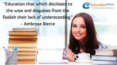 #Lack of understanding.#Bierce #explanation #EducationInsta Education System