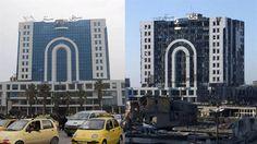 Homs. Antes y Después.