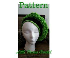 Little Deezas Kingston Cap Crochet pattern by LittleDeezasCrochet