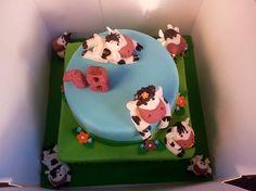 18th Birthday Cow Cake