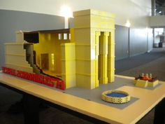 Solomon's Temple - Lego Style   Here you go Brandi, I know you have enough Lego's to make this. LOL