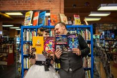 Bethany + Shawn's Vintage, Geek Wedding -  Photographer Kelly Redinger