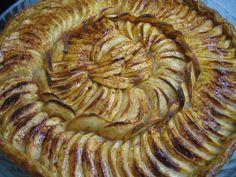 Tarte aux pommes cannelle, Recette de Tarte aux pommes cannelle par Ofelaye c. - Food Reporter