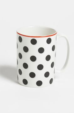 kate spade new york 'spots - well placed' porcelain mug available at #Nordstrom