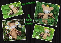 Kaldin Kreativ: Mini-Fledermaus (Kostenlose Anleitung)