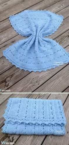 Simply Stunning Baby Blanket Free Crochet Pattern.