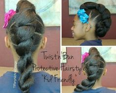 Another natural style for my daughters!
