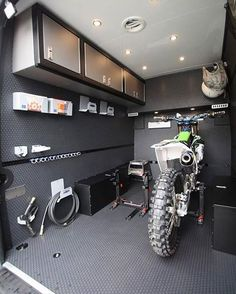 From @rbcomponents, Moto Season = Moto Van!! Check out those Lock-N-Loads!!! #riskracing #locknload #rbcomponents #motocross #mx #transport #dirtbike