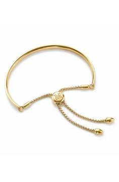 Monica Vinader Fiji Chain Bracelet In Gold Modern Jewelry, Gold Jewelry, Jewelery, Jewelry Accessories, Jewelry Design, Statement Jewelry, Jewelry Box, Monica Vinader Bracelet, Engraved Necklace