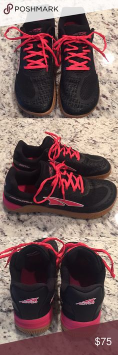 NWOT Altra HIIT XT gym shoes Brand new and never worn outside of the house. Ample toe box allows the toes to relax and spread out naturally. Very comfortable shoes, just a tad small for me. I ordered directly from Altra and couldn't return so I'm trying to sell here. Altra Shoes Sneakers