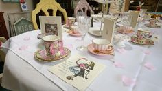 Another great Alice in Wonderland inspired tea party yesterday!!! #AliceInWonderland #teaparty #party #ThemedParty #celebration #Sheffield