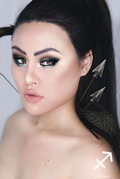 Elle crée 12 maquillages pour chaque signe du Zodiaque