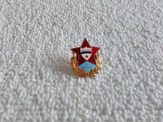 Vintage Russia/Russian Spartak Moscow Football Soviet Union pin badge