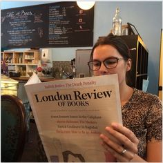 #ReadEverywhere LRB at Bea's of Bloomsbury