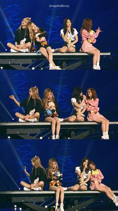 blackpink at the concert Yg Entertainment, South Korean Girls, Korean Girl Groups, Forever Young, Bts Anime, Dirt Bike Girl, Blackpink Memes, Kim Jisoo, Fanart