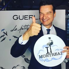 #AboutLastNight @thierrywasser with #LaPetiteRobeNoire in Montreal.  Stay tuned to learn more about his upcoming fashionable creation.  #DressUpYourStyle #Guerlain #mtlmoments #Montreal #Beauty #perfume
