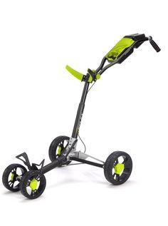 Sun Mountain Reflex Trolley, black/lime #golf #pushcart #4wheel #sunmountain #shop