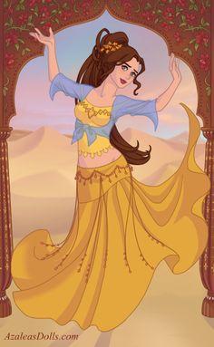 Indian Dancer Belle by M-Mannering.deviantart.com on @DeviantArt