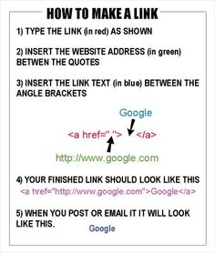 How to Make a Link