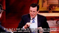 Colbert reality. (gif)