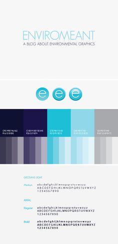 Enviromeant: A Blog about EGD by Design Etiquette , via Behance #branding #logo #graphic #design