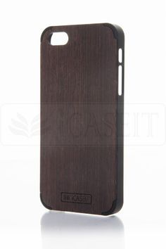 Amazon.com: iCASEIT Wood iPhone Case - Genuinely Natural, Unique & Premium quality for iPhone 5 / 5S - Wenge / Black: Cell Phones & Accessories