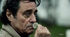 "Mr. Wednesday of ""American Gods"" ~ based on Gaiman's novel. ~ Ian McShane"