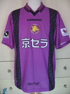 bdaba251b KYOTO SANGA FC UMBRO 1998 VINTAGE JAPAN J LEAGUE FOOTBALL JERSEY SOCCER  SHIRT M