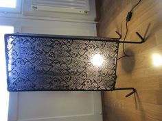 Handmade metal frame+lace