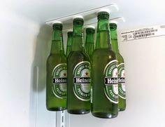 BottleLoft, varal-de-cerveja, suporte-de-cerveja, organizar-geladeira, por-que-nao-pensei-nisso 1