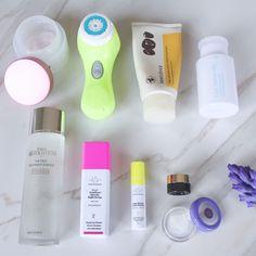 Nighttime Skin Care Routine for sensitive, oily, acne prone skin