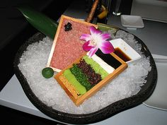 The best tasting weird stuff I have ever had from Morimoto in NYC. Toro Tartare... YUM.