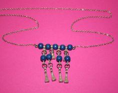 Genuine 70's horseshoe nail necklace by PoisonedAppleVintage