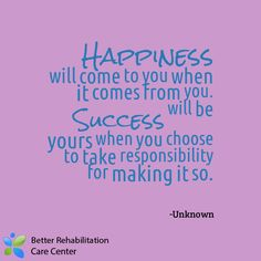 How do you find #Happiness and #Success? #quotes  Follow us on Twitter https://twitter.com/BRCareCenter