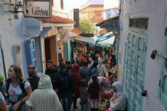 Um dia em Chefchaouen Marrakech, Street View, Grand Mosque, Morocco, The Journey