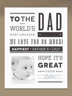 Free printable Newspaper Father's Day Card