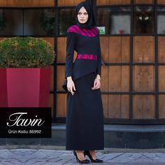 Her hanımın dolabında mutlaka bulundurması gereken feminen elbise: Peplum.