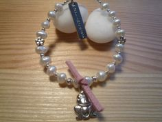 Handmade Kids' Ivory Freshwater Pearls Bracelet by urbaneprincess