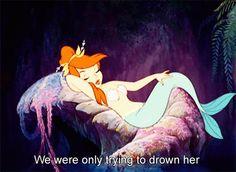 mermaid in peter pan movie LUV THEM !!! @Simone Hostetler