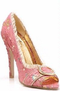 ..Pink Queen Elizabeth Marie Antoinette Princess Shoes .... just for those few times when cowboy boots don't work :)))))))))))))))))))
