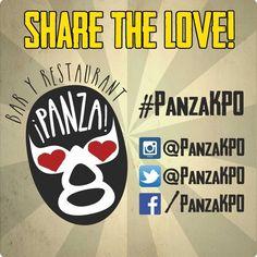 """¡Hola! Tänä aurinkoisena perjantaina polkaistaan käyntiin Panzan """"T-paita kuvasta""""-challenge! Ota Panza-aiheinen kuva, iske siihen hashtag #panzakpo ja Team Panza valitsee sydäntä lämmittävimmän otoksen kahden viikon välein. Alkaen tästä päivästä! It's on! Share the lova loooova! Voittajalle ilmoitetaan henkilökohtaisesti."""