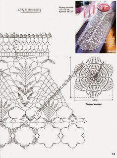 crochelinhasagulhas: caminho de mesa