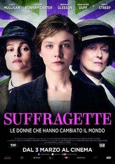 Suffragette, scheda del film con Carey Mulligan, Meryl Streep e Helena Bonham Carter,dal 3 marzo al cinema.