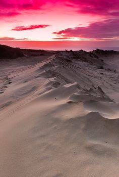 Dune Ridge Sunset by RobK1964            tjn