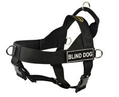 Dean and Tyler DandT UNIVERSAL BLINDDOG BK-L DT Universal No Pull Dog Harness, Blind Dog, Large, Fits Girth, 79cm to 107cm, Black *** Find out more details by clicking the image (This is an amazon affiliate link. I may earn commission from it)
