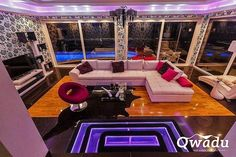 Luxury villas on the island Ciovo near the historic towns of Trogir   Croatia