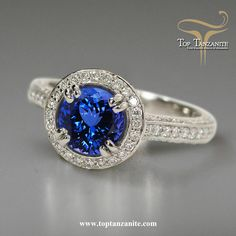 Explore the wonderful collection of tanzanite jewelry online at toptanzanite.com.