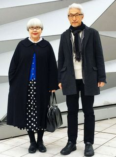This Elderly Couple Wear Matching Outfits (& School Us On Style)+#refinery29uk