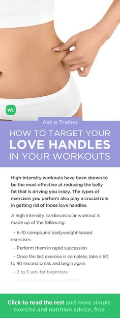 How should you work out to target love handles / muffin top? Visit http://wlabs.me/1pSU3BD to find out!